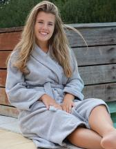 Bathrobe Shawl Collar